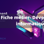 fiche metier. developpeur web. bk search